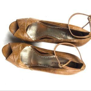 BCBGirls Antique Leather Heel